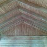 Dach altany działkowej