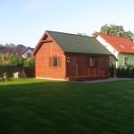 Domek działkowy - drewniany